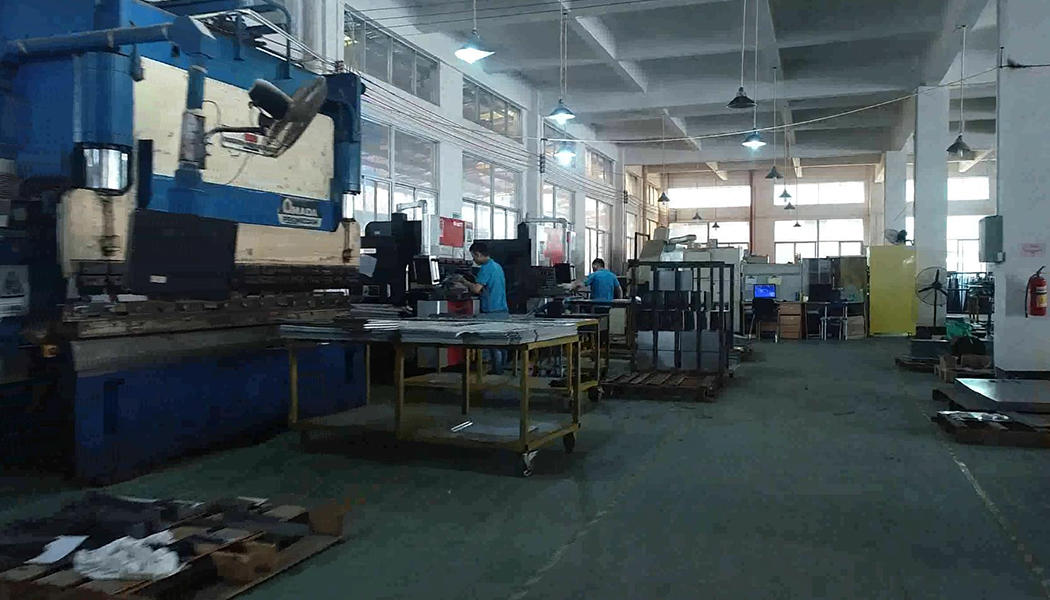 Sheet Metal Fabrication Workshop CNC bending area