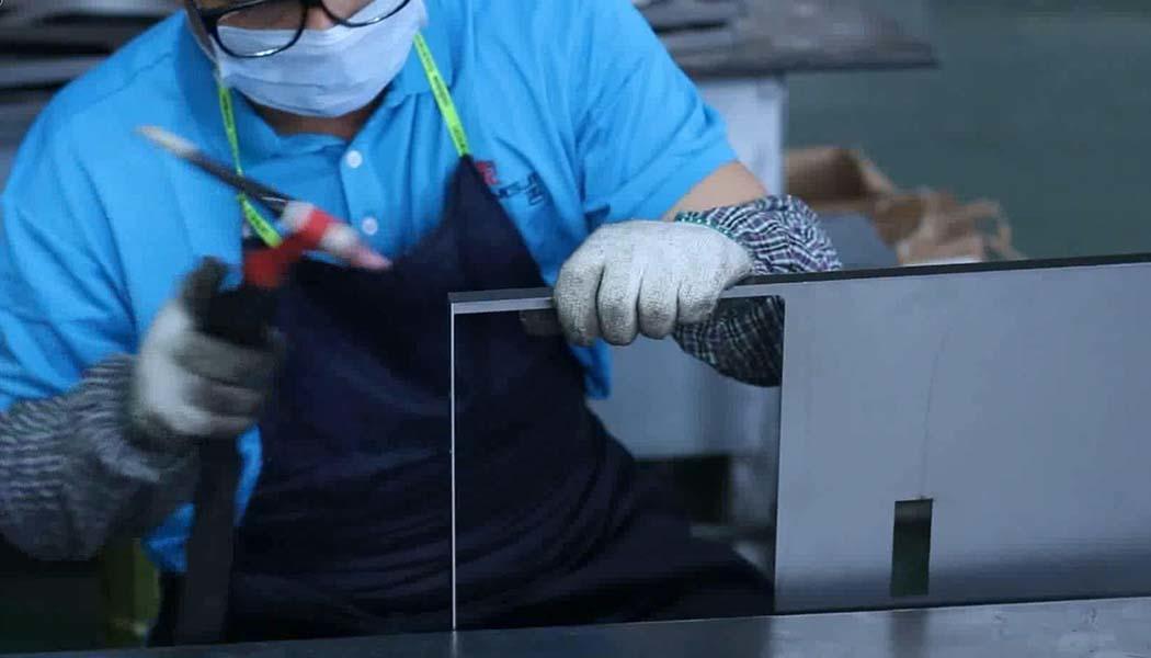 Sheet Metal Fabrication Stainless steel mirror frame Welding process