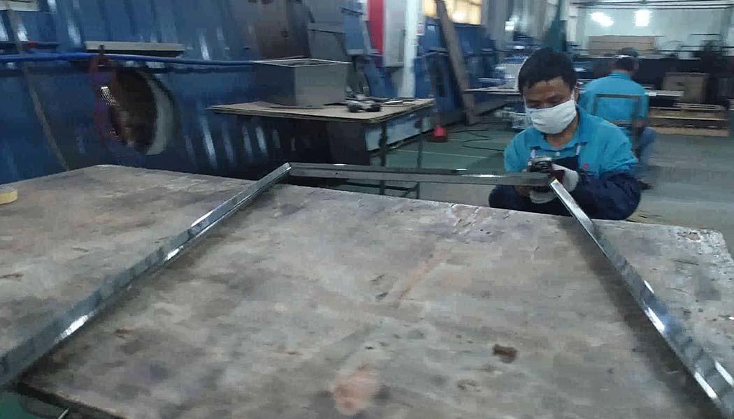 Sheet Metal Fabrication Stainless steel mirror frame polishing