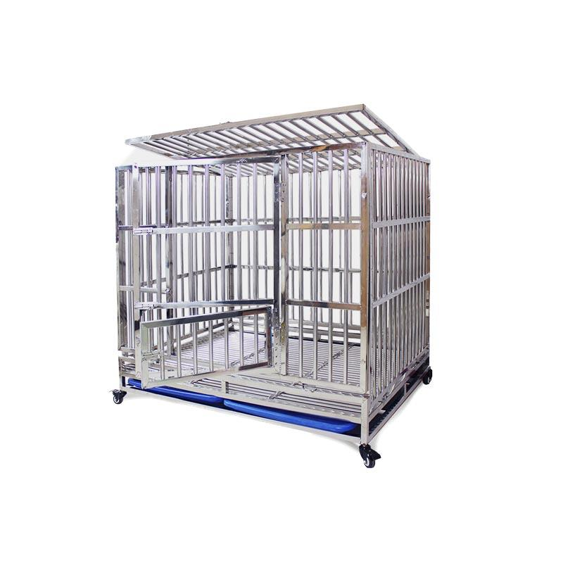 Sheet Metal Fabrication  fold Stainless steel pet cage