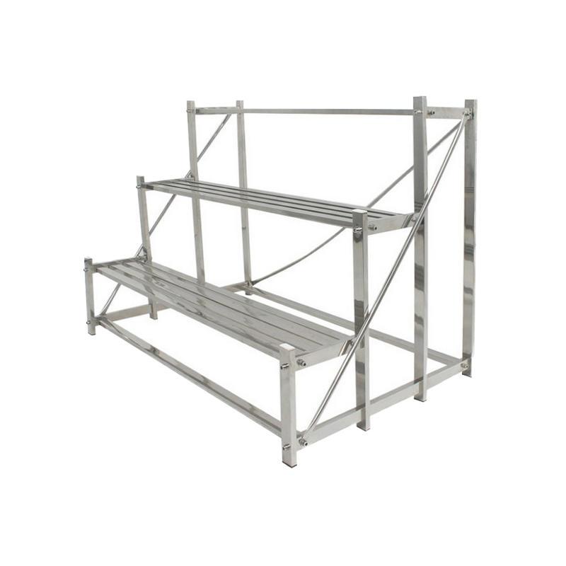 Stainless steel flower rack base