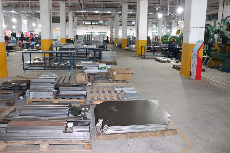 Processing Equipment of Dongji Sheet Metal Workshop