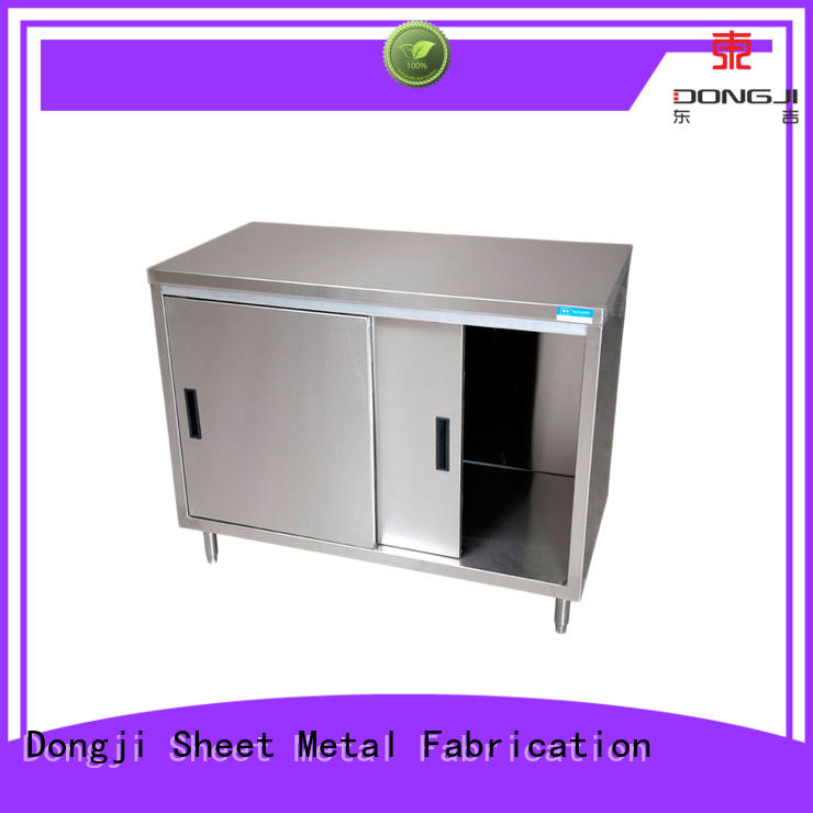 Dongji grade custom metal box fabrication factory for CNC processing manufacturers