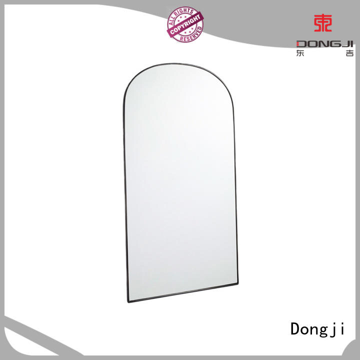 Dongji highend 304 stainless steel round wall mirror