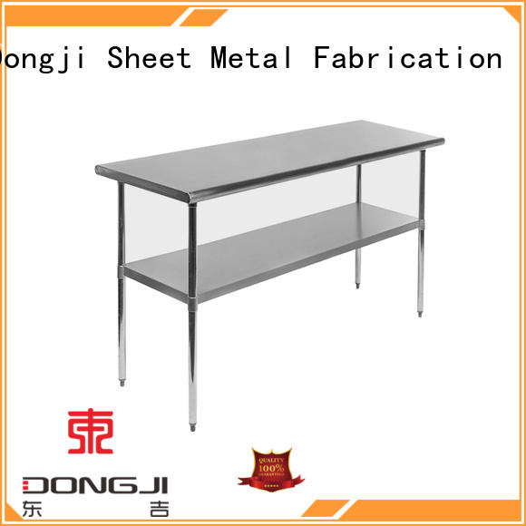 Dongji Best outdoor metal shelf company for sheet metal processing