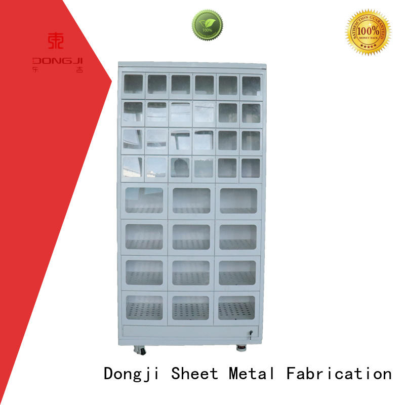 Dongji metal automated parcel lockers Suppliers for CNC processing manufacturers