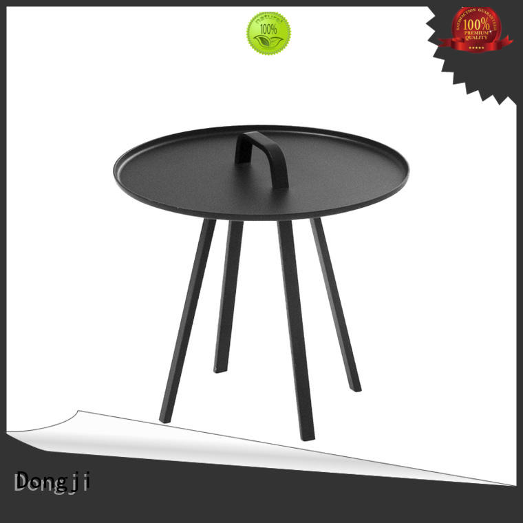 Dongji dining colored metal chairs