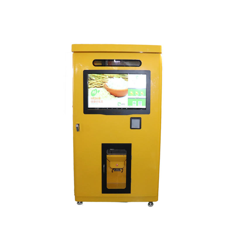 9 channel single cabinet button vending machine