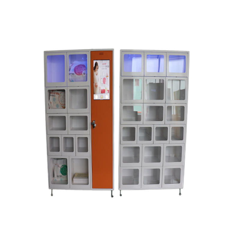 Production and customization 36 intelligent lockers