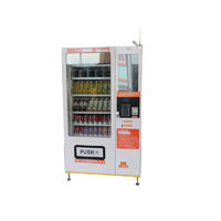 21.5 inch screen refrigeration vending machine