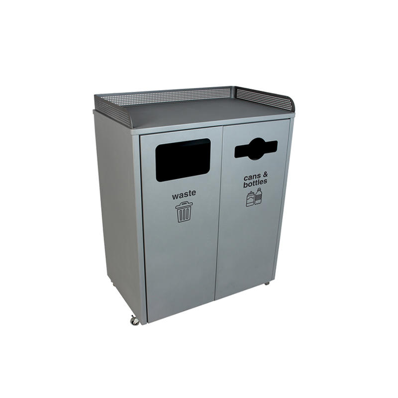 Sheet Metal Fabrication Stainless steel smoking trash can