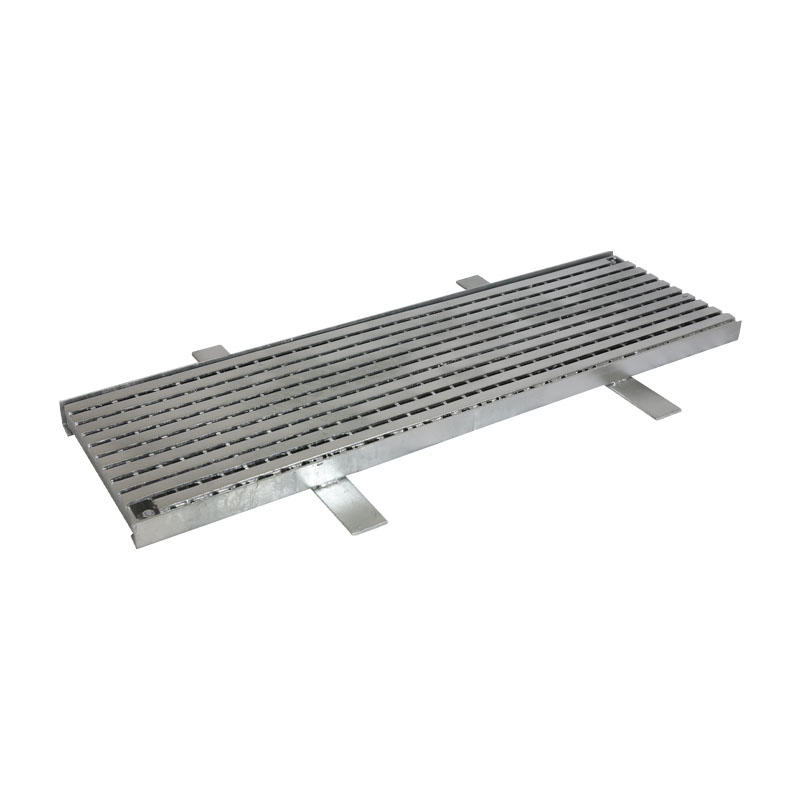 Special stainless steel trench cover plate for factories
