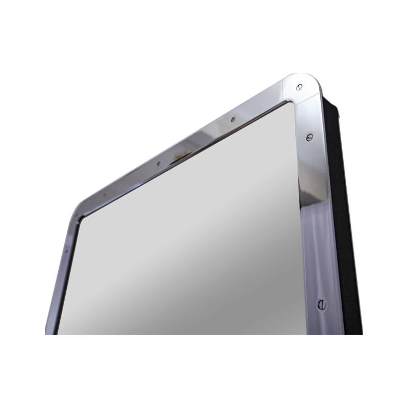 high quality stainless steel Metal mirror frame with different color surface treatment (PVD)