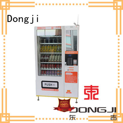 Dongji refrigeration drink vending machine manufacturers for subway openings