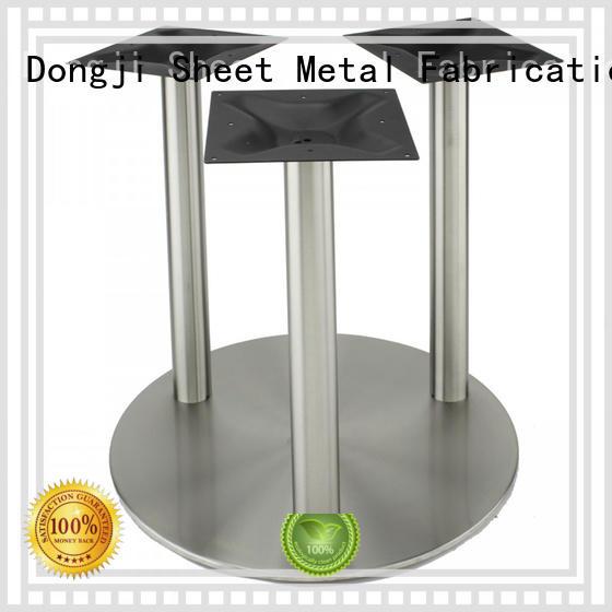 Dongji quality sheet metal cafe chairs