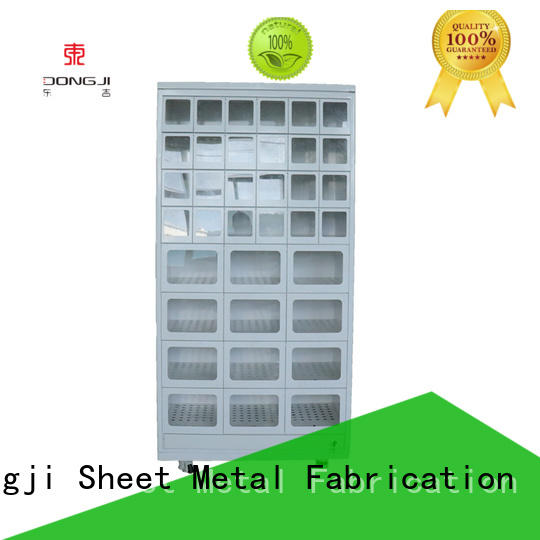 Dongji Best automated parcel lockers for business for metal processing factories