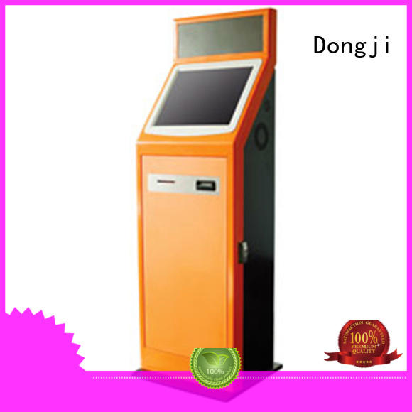Dongji metal self service train ticket machines
