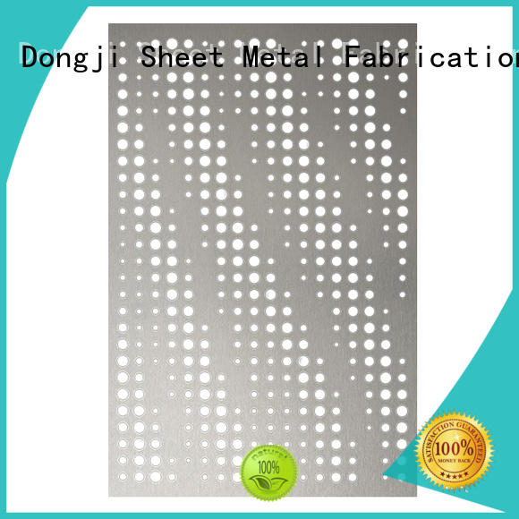 Dongji High-quality custom sheet metal enclosures factory for metal processing factories