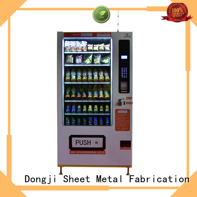 Hot cabinet vending machine for sale intelligent Dongji Brand