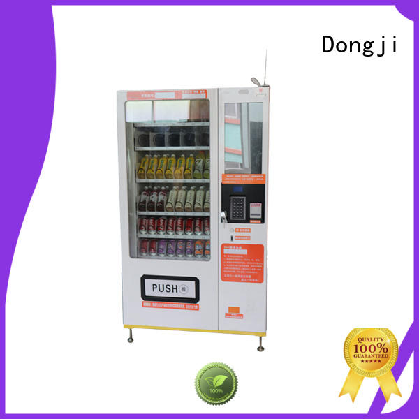 vending machine for sale screen button cabinet Dongji Brand vending machine