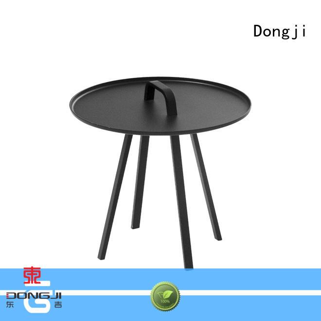Dongji table sheet metal cafe chairs