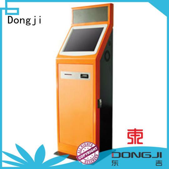 Dongji intelligent self service train ticket machines