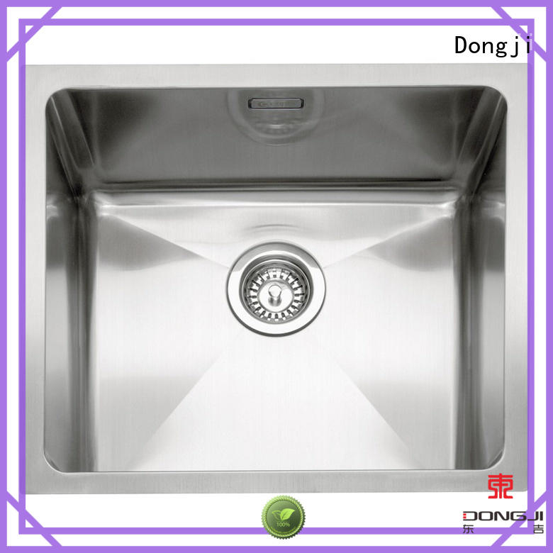 large size sheet stainless steel kitchen sinks Dongji manufacture