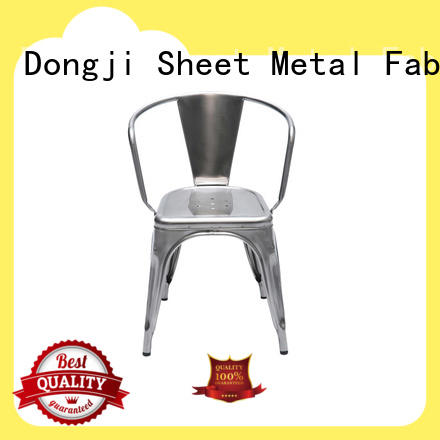 Dongji colored metal chairs