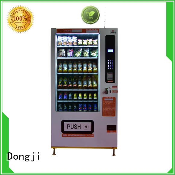channel intelligent Dongji Brand vending machine for sale factory