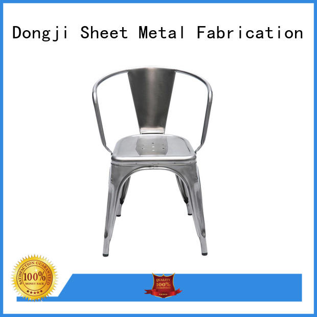 sheet metal cafe chairs dining